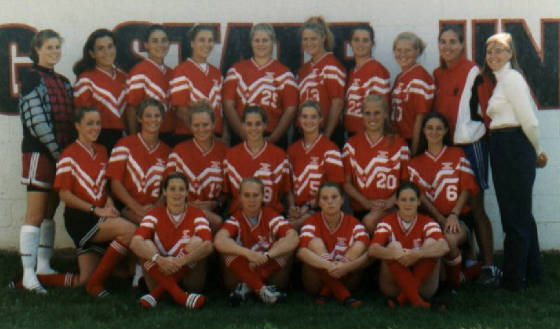 1998 FSU Women's Soccer Team