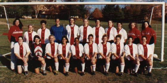 2001 FSU Women's Soccer Team